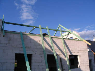 konstrukce krovu