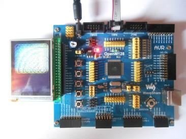 Vývojový kit s ATmega128