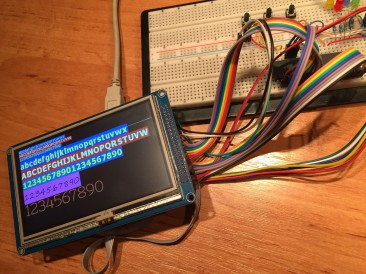 TFT display SSD1963